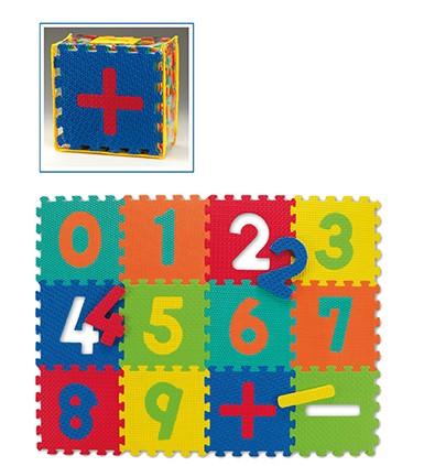 Kinder Spiel-Boden-Puzzle-Matte Ziffern