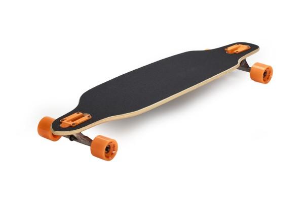 Longboard 38 Drop City Surfer Orange