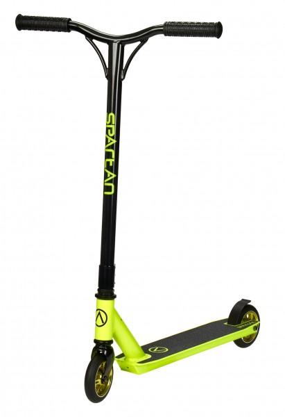 Stuntscooter Freestyle grün / schwarz