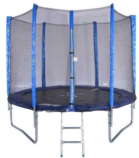 Trampolin komplett 250cm mit Netz und Leiter
