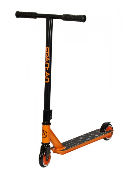 Stuntscooter Kids Alu schwarz/orange