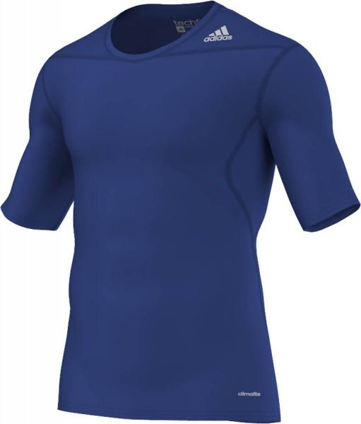 adidas Techfit Base Shortsleeve blau D82091