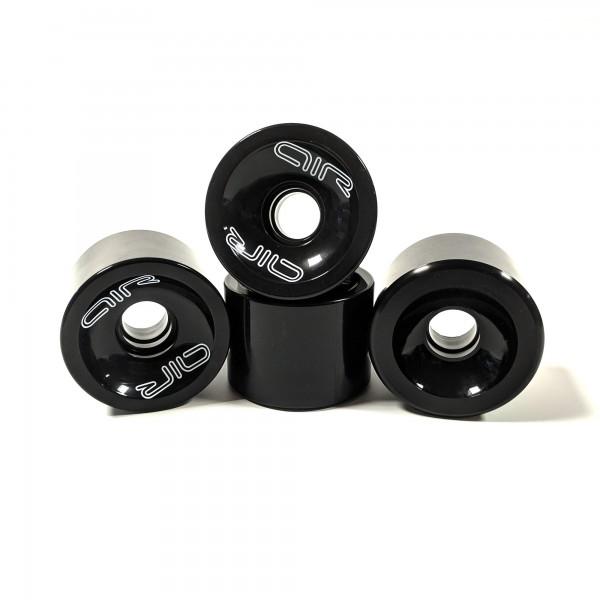 Longboard Rollen - 4 Stück schwarz 50 x 68mm