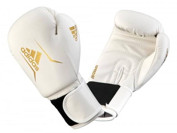 Boxhandschuh Speed 50 - weiß/gold